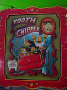 The Simpsons Ride Tooth Chipper Poster