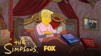 Donald Trump's First 100 Days In Office Season 28 Ep. 19 THE SIMPSONS