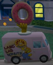 Simpsons hit and run Donut Truck
