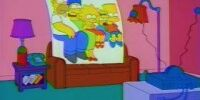 Fax Machine couch gag