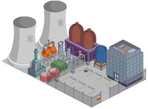 Springfield Nuclear Power Plant Tapped out