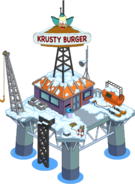 Krusty Burger Oil Rig Tapped Out