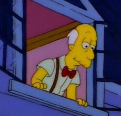 Simpsons 8x05 Bart of dark Rev Lovejoy Sr