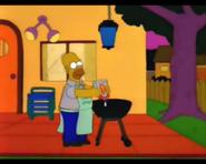 HomerSquirtsGasolineOverTheStove