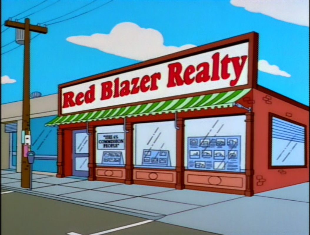 Red Blazer Realty | Simpsons Wiki | FANDOM powered by Wikia