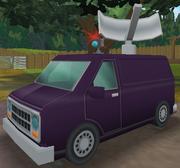 Serveilance Van (front)