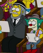 Rabbi Hyman Krustofsky and son Krusty