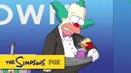"Cancelling The Bit from ""Clown In The Dumps"" THE SIMPSONS ANIMATION on FOX"