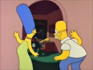Homer and marge spy