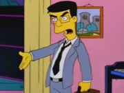 Frank Grimes Grimey at the Simpsons' House