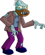 Tapped Out Shuffling Zombie
