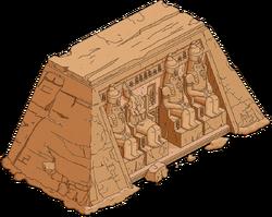Abu Simbel Temple Menu