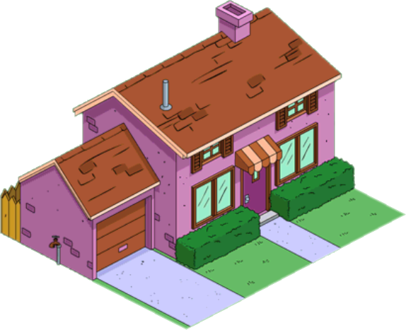 Purple House The Simpsons Tapped Out Wiki Fandom