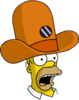 Camera Hat Homer Surprised Icon
