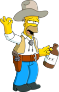 Cowboy Homer Unlock