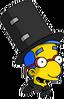 Magic Act Milhouse Excited Icon