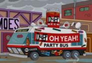 Duff Beer Party Bus