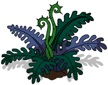 Prehistoric Foliage Menu
