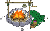 Pirate Fire Pit Menu