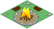 Tapped Out Campfire
