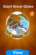 Giant Snow Globe Store Image