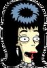 Cavegirl Booberella Happy Icon