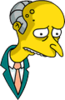 Mr. Burns Sad Icon