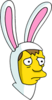 Hugs Bunny Sad Icon