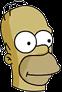 Strongman Homer Icon
