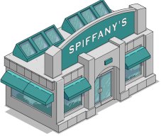 Spiffanys Menu