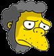 Caveman Moe Sad Icon