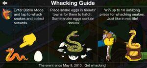 Whacking guide