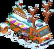 Reindeer Burger Truck 03 Snow Menu