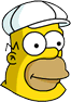 King-Size Homer Icon