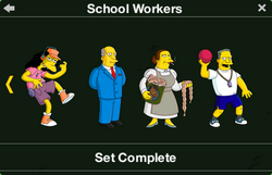 School Workers Character Collection 2