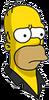 Pin Pal Homer Sad Icon