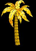 Gold Palm Tree Menu