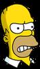 Homer Angry Icon