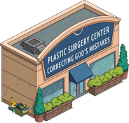 Plastic Surgery Center Menu