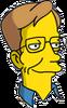 Stephen Hawking Happy Icon