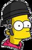 Jockey Bart Icon