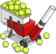 Tennis Machine Menu
