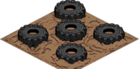 Obstacle Tires