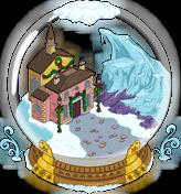 Giant Snow Globe Menu