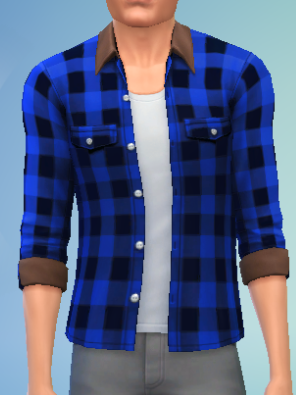 File:YmTop ShirtFlannelRolled SolidBlue.png
