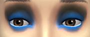 YfMakeupEyeshadow ThreeToneWild BlueBlack