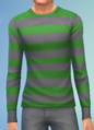 YmTop SweaterCrewBasicStripes StripesGreen.png