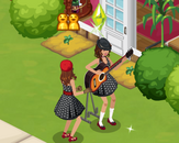 Sims Social - 50s Week - Ganging Up Quest - Show Off Moves Elvis Pelvis Thrust