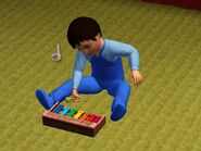 Chris and xylophone
