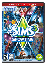 The Sims 3 Showtime Limited Edition USA